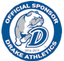 We are proud sponsors of Drake Athletics