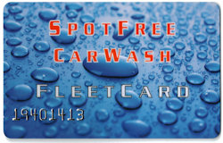 Spotfree Car Wash Fleet Card
